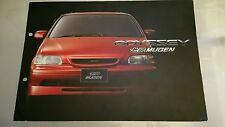 1995 Mugen Honda Odyssey Catalog Brochure 1g