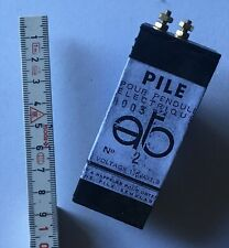 Batterie Adapter ATO, Pile battery, HATOT Type 2, pendule electrique,Bulle Clock