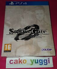 STEINS;GATES 0 LIMITED EDITION SONY PS4 PAL NEW SEALED NEUF SCELLE