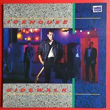 Icehouse Sidewalk LP with Gatefold 1984 Excellent Condition