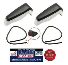 REAR BUMPER BAR OVER RIDERS 1 PAIR TO SUIT XR XT XW XY GT GTHO FREE POST
