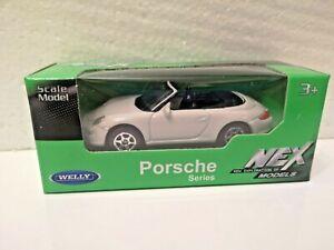 🚓 WELLY NEX CAR Scale Model 1:60 1/60 BOX PORSCHE CARRERA S 911 997