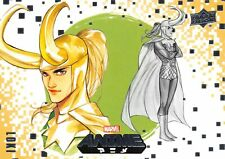 LOKI / Marvel Anime 2020 (Upper Deck) BASE Card #45 Art by PEACH MOMOKO