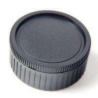 Rear Lens Cap Cover For Leica M Lens + Camera Body Cap for Leica M Mount DSLR