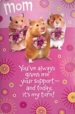 American Greetings Sound Lighted Pop-Up Mother's Day Card: Hamster Cheerleaders