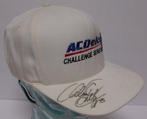 Rare 1998 ADAM PETTY Signed Autographed ASA AC Delco Racing Hat With COA & CASE