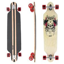"Maronad ® Longboard Skateboard 41"" drop through CRUISER ABEC 11 completa Scull"