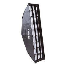 Bessel 90cm x 22cm Softbox Stripbox + 2 diffusers & 8cm grid Elinchrom EL-Fit
