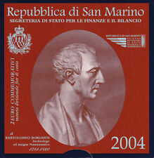 2 euro commémorative Saint Marin 2004 Borghesi