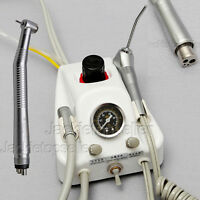 DENTISTA ODONTOTECNICO MECCANICO TURBINA Unit+ High speed Handpiece f/ NSK 4hole
