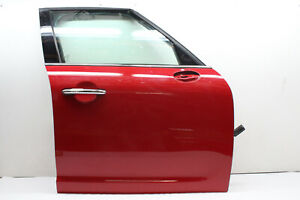2019 MINI COOPER COUNTRYMAN F60 FRONT RIGHT DOOR ASSEMBLY RED OEM 17 18 19