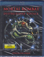 Blu-ray MORTAL KOMBAT - DISTRUZIONE TOTALE nuovo 1998