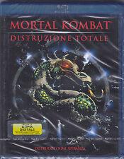 Blu-ray **MORTAL KOMBAT ♦ DISTRUZIONE TOTALE** nuovo 1998