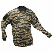 New Valken Paintball VTac V-Tac Echo Playing Jersey - Tiger Stripe - XS