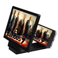 Smart Phone Screen Magnifier Enlarger Stand (Black)