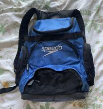 Speedo Swim Backpack Blue