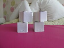 Bose double Jewel surround sound speakers (pair) in white