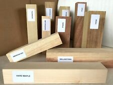 Wood Turning Spindle Blanks Selection Box Mixed Sizes Species Woodturning Gift