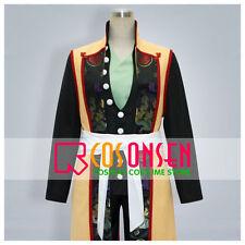 Hakuouki Souji Okita Western Style Cosplay Costume Hademade With Shoes Covers