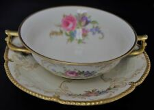 Rosenthal Diplomat Cream Soup Bowl/Saucer Sansoussi Shape Made/Germany