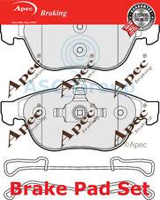 Apec Vorne Brems Scheiben Satz OE Qualität Ersatzteil PAD1685