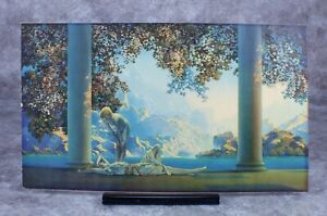 """Maxfield Parrish Framed Lithograph Print """"Daybreak"""" The House of Art N.Y."""