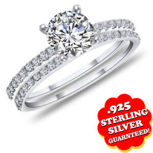 0.50 Ct Round Cut Diamond with 14K White Gold Over Ring