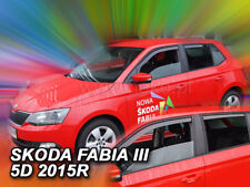 HEKO Windabweiser SKODA FABIA III  5tür ab 2014 HTB/COMBI 4tlg 28343