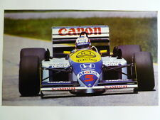 1988 Nigel Mansell's Williams Honda F1 Print Picture Poster RARE Awesome L@@K