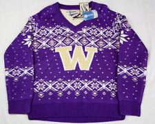 University of Washington Huskies Campus Specialties Holiday Sweater Xmas Mens L