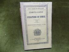 COMPTE-RENDU des Opérations du COMICE 1859 Fontenay-Saint-Père Agriculture