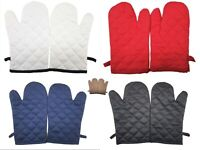 Pair of Oven Gloves Hot Pot Holder Thick Heat Resistant Kitchen Oven Gloves Mitt