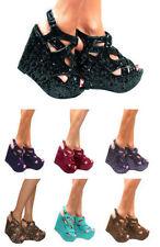 Suede Wedge Casual Heels for Women