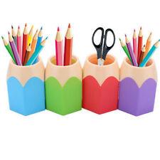 Stiftehalter Stifteständer Feder Bleistifte Box Organizer Stiftebecher Plastik