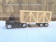 TONKA STUB NOSE CUSTOM  LIVESTOCK TRUCK & TRAILER   NICE TRUCK FULLY CUSTOMISED
