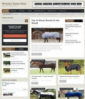 EQUESTRIAN SHOP - Website Business For Sale - Work From Home + Domain + Hosting