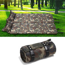 New Camping & Hiking Self-Inflating Sleeping Pad Army Green Pads Mat 72 inch