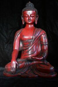 Buddha statue resin 12 inch