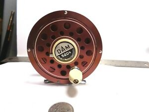 Vintage D.A.M.Quick Model 5204 Trout Salmon Bass Fly Reel