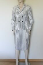 MAX MARA, Stretch  Wool Suit - Blazer & Skirt, Size 10 US, 12 GB, 40 DE, 44 IT