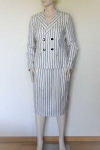 MAX MARA, Stretch  Wool Suit - Blazer & Skirt, Size 8 US, 10 GB, 38 DE, 42 IT