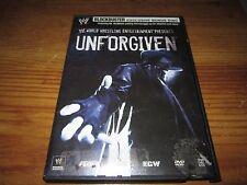 WWE Unforgiven 2007 DVD Blockbuster Exclusive Bonus 2 Disc Set UNDERTAKER OOP
