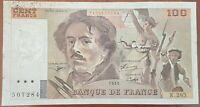 Billet 100 francs Eugène DELACROIX 1995 FRANCE  K.285