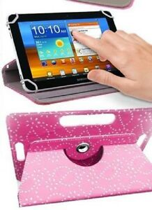 """Universal Folio 360° Leather Case Cover Pouch For Android Tablet PC 9"""""""