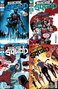 Suicide Squad (#7, #8, #9, #10, #11 inc. Variants, 2020)