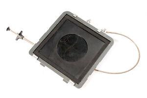 Plaubel Peco Universal Supra II Hinterlinsen-Verschluss Shutter Release