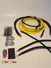 Acura Integra Yellow Battery Relocation Kit with New Grounding Kit