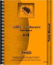 Allis Chalmers D19 Tractor Parts Manual