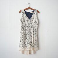 Monteau Women's Lace Fit & Flare Dress Medium