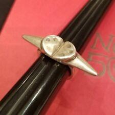 Uno De 50 Silver Ring (size 7)